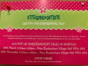 Pop Up Haberdashery Shop