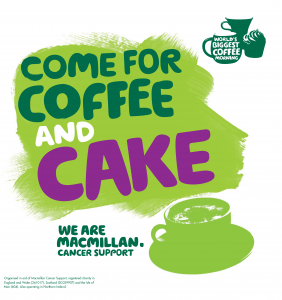 MacMillan Coffee Morning and Evening Fundraiser